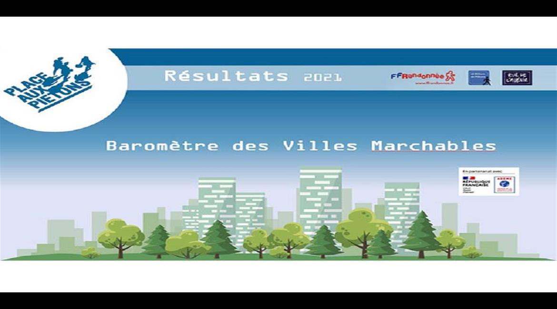 Baromètre des villes marchables : les résultats !