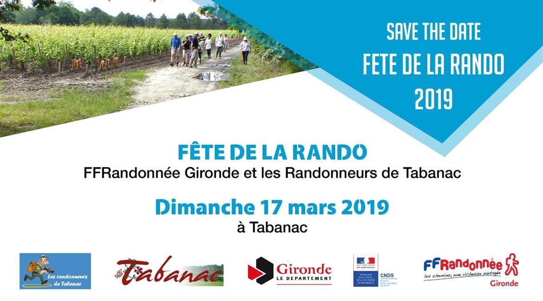 Save the date - Fête de la Rando