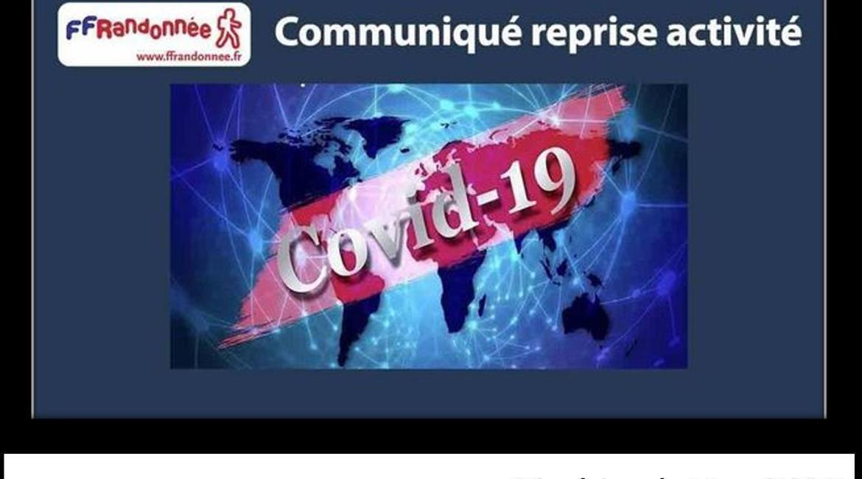 Communiqué de presse reprise des activités - Didier Badin